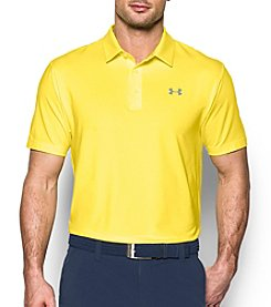 Under Armour® Men's Solid Playoff Short Sleeve Polo
