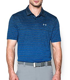 Under Armour® Men's Trajectory Stripe Polo