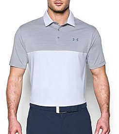 Under Armour® Men's Playoff Blocked Polo