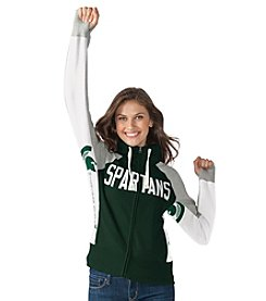 G III NCAA® Michigan State Spartans Women's Down The Field Hoodie