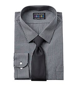 Alexander Julian® Men's Big & Tall Dress Shirt And Tie Set