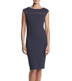 MICHAEL Michael Kors® Petites' Grommet Bar Dress