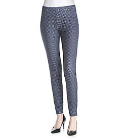 MICHAEL Michael Kors® Petites' Bungalow Dot Leggings