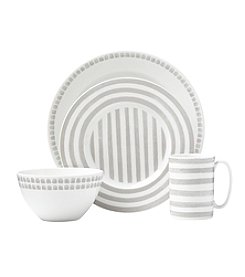 kate spade new york® Charlotte Street Grey North 4-pc. Place Setting