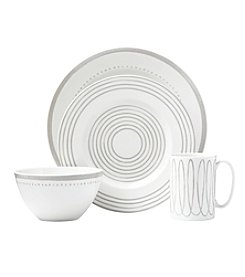 kate spade new york® Charlotte Street Grey West 4-pc. Place Setting