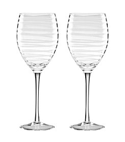 kate spade new york® Set of 2 Charlotte Street White Wine Glasses