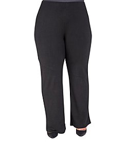 Poetic Justice® Plus Size Kris A-line Pull-On Pants