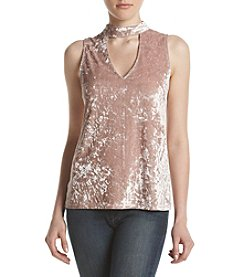 Hippie Laundry Velvet Cut-Out Top