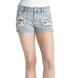 Hippie Laundry Patched Shorts
