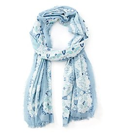Collection 18 Zen Paisley Oblong Scarf
