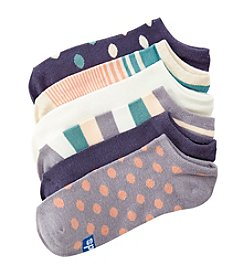 Keds® Striped 6-Pack Socks
