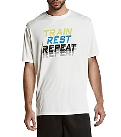 Exertek® Men's Big & Tall Train Rest Repeat Short Sleeve Tee