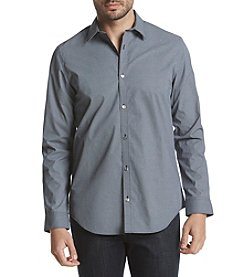 Calvin Klein Men's Woven Infinite Cool Pattern Shirt