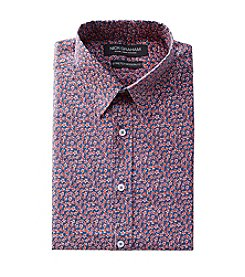 Nick Graham® Men's Min Floral Fitted Dress Shirt