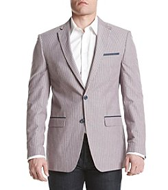 Tallia Orange Men's Seersucker Sport Coat