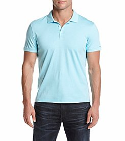 Calvin Klein Men's Interlock Striped Polo
