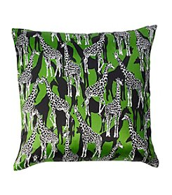 kate spade new york® Giraffes Square Decorative Pillow