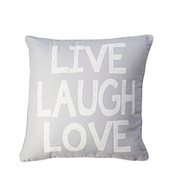 Live Laugh Love Decorative Pillow