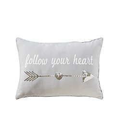 Follow Your Heart Decorative Pillow