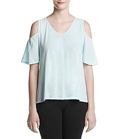 Calvin Klein Performance Cold Shoulder Solid Top