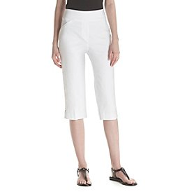 Alfred Dunner® Petites' Stretch Capris