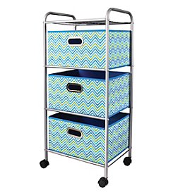 Bintopia Compact 3-Drawer Storage Cart
