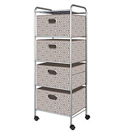 Bintopia 4-Drawer Trolley Cart