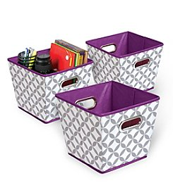 collapsible fabric bins