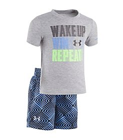 Under Armour® Baby Boys Wake Up Win Repeat Set