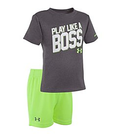 Under Armour® Baby Boys Play Like A Boss Set