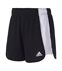 adidas® Girls' 7-10 The Block Mesh Shorts