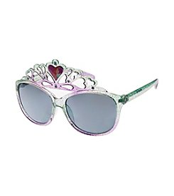Riviera® Girls' Glitter Princess Ariel Crown Glasses