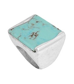 Robert Lee Morris Soho™ Semiprecious Turquoise Stone Ring