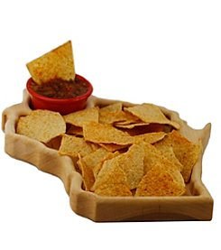 Wayne Waldner Wisconsin Chips & Dip Serving Tray