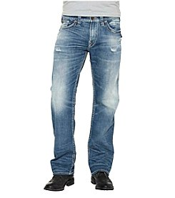 Silver Jeans Co. Men's Zac Relaxed Stretch Jeans