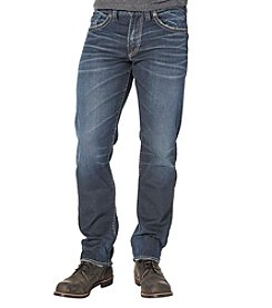 Silver Jeans Co. Men's Eddie Athltic Dark Wash Jeans