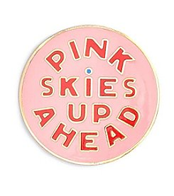ban.do Pink Skies Up Ahead Enamel Pin
