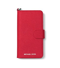 MICHAEL Michael Kors® Electronic Leather iPhone 7 Case Tab