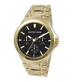 Geoffrey Beene Goldtone Watch