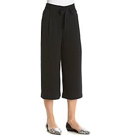 A. Moon Cropped Culotte Pants