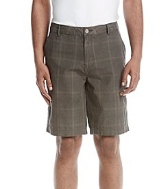 Weatherproof Vintage® Men's Plaid Flat Front Shorts