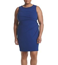 Calvin Klein Plus Size Scuba Crepe Dress