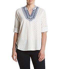 Ivanka Trump® Front Yoke Top