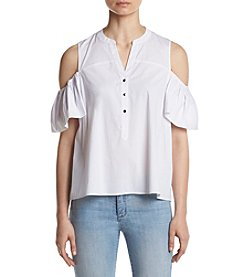 Ivanka Trump® Cold Shoulder Blouse