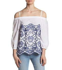 Ivanka Trump® Off Shoulder Blouse