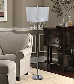 Catalina Lighting Glam Chandelier Floor Lamp