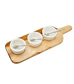 Godinger® Wood Serving Board Set