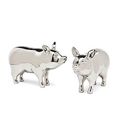 Godinger® Pig Salt & Pepper Shakers