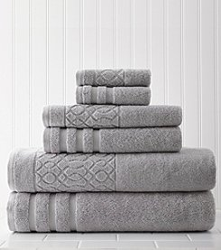 Amrapur Moroccan Collection Kiev Chain 6-pc. Towel Set