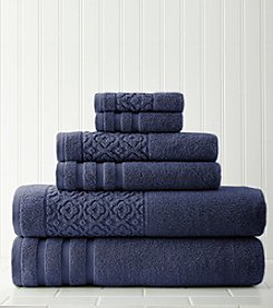 Amrapur Moroccan Collection Trellis 6-pc. Towel Set
